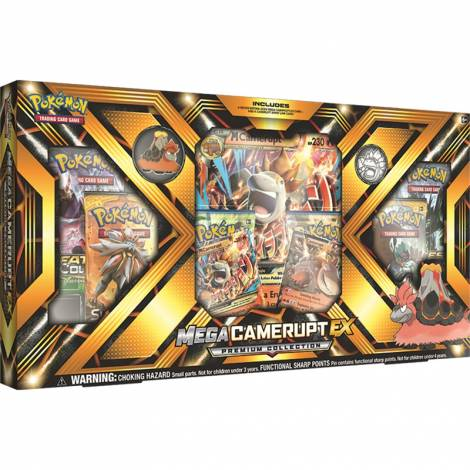Pokemon TCG – Mega Camerupt-EX Premium Collection