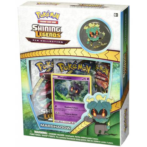 Pokemon TCG – Shining Legends Marshadow Pin Collection
