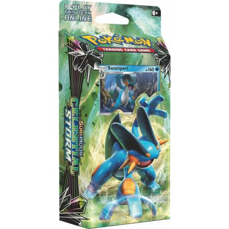 Pokemon TCG Sun & Moon : Celestial Storm - Hydro Fury Deck