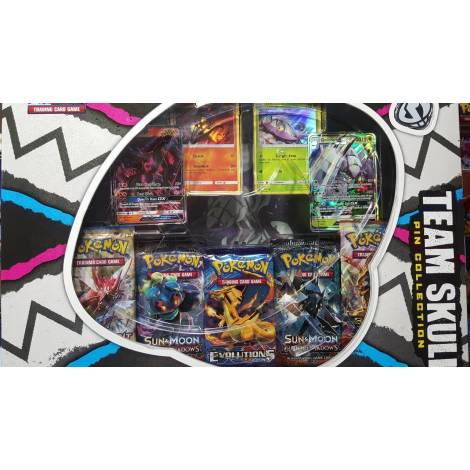 Pokemon TCG – Team Skull Pin Collection