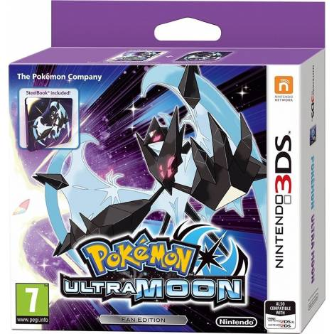 Pokemon Ultra Moon - Steelbook Edition (NINTENDO 3DS)