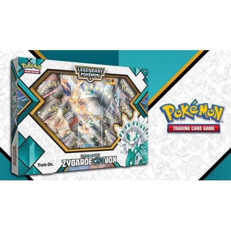 Pokémon TCG – Shiny Zygarde GX Box