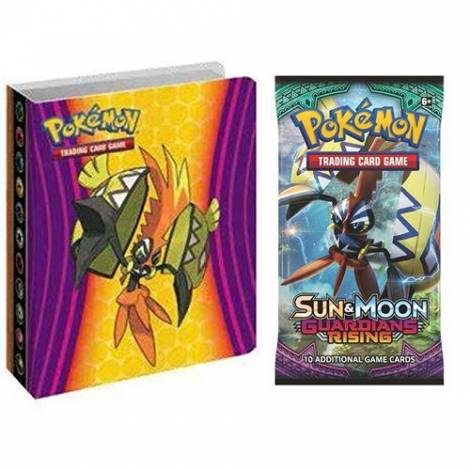 Pokémon TCG – Sun & Moon: Guardians Rising Collector's Album & Booster