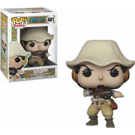POP! Animation: One Piece - Usopp #401 Vinyl Figure