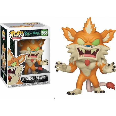 Pop! Animation: Rick and Morty - Berserker Squanchy 568 Vinyl Figure