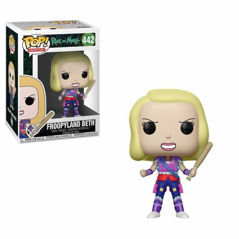POP! Animation: Rick and Morty - Froopyland Beth #442 Vinyl Figure