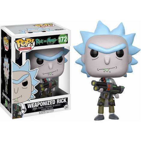 POP! ANIMATION: RICK AND MORTY - WEAPONIZED RICK #172 VINYL FIGURE
