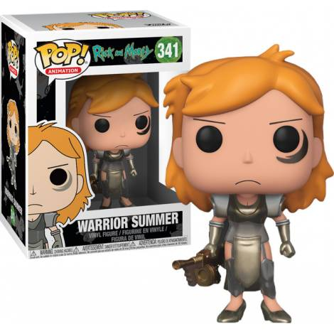 POP! Animation: Rick & Morty - Warrior Summer #341 Vinyl Figure