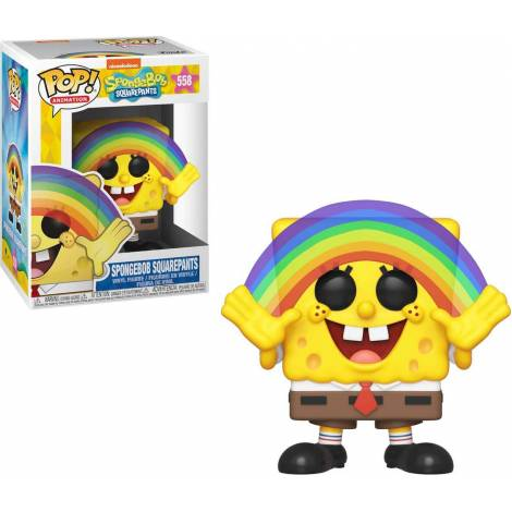 Pop Animation: Spongebob Spongebob Rainbow #558 Vinyl Figure
