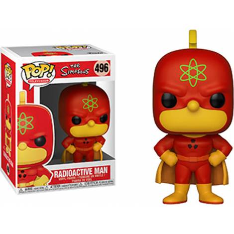 Pop! Animation: The Simpsons - Radioactive Man #496