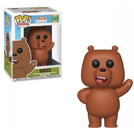 POP! Animation: We Bare Bears - Grizz #549 Vinyl Figure