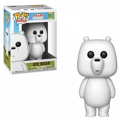 POP! Animation: We Bare Bears - Ice Bear #551 Vinyl Figure