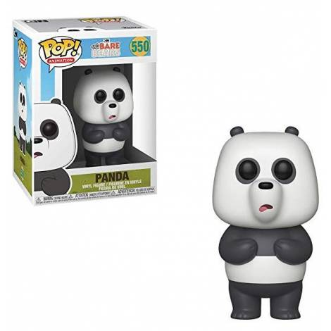 POP! Animation: We Bare Bears - Panda #550 Vinyl Figure