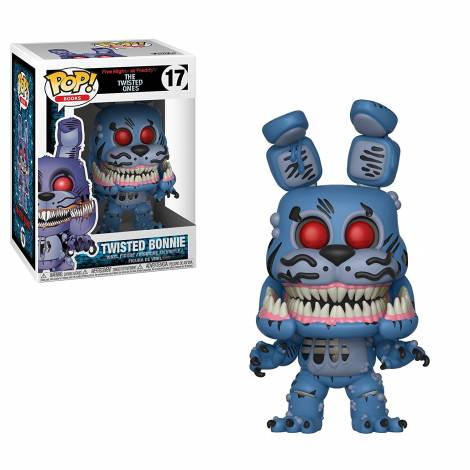 POP! Books: Five Nights at Freddy's - The Twisted Ones - Twisted Bonnie #17 Vinyl Figure
