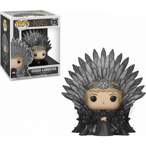 POP! Deluxe: Game of Thrones S10 - Cersei Lannister Sitting on Iron Throne #73 Vinyl Figure