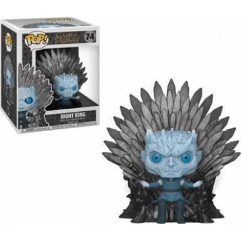 POP! Deluxe: Game of Thrones S10 - Night King Sitting on Throne #74 Vinyl Figure