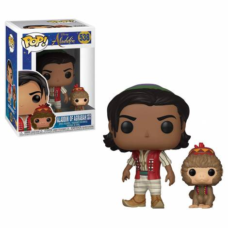 POP! Disney: Aladdin - Aladdin of Agrabah with Abu #538 Vinyl Figure