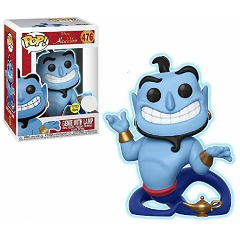 POP! Disney: Aladdin - Genie with Lamp (Glow in the Dark) #476 Vinyl Figure