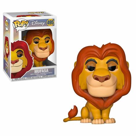 POP! Disney: Lion King - Mufasa #495 Vinyl Figure