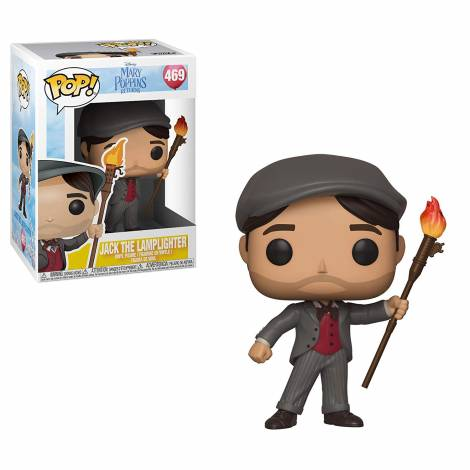 POP! Disney: Mary Poppins: Jack the Lamplighter #469 Vinyl Figure