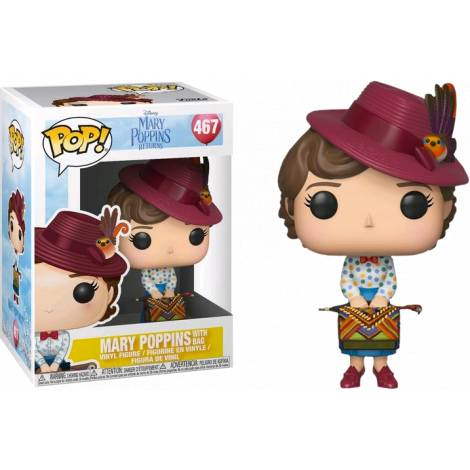 POP! Disney: Mary Poppins: Mary with Bag #467 Vinyl Figure