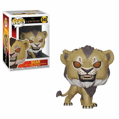 POP! Disney: The Lion King - Scar #548 Vinyl Figure