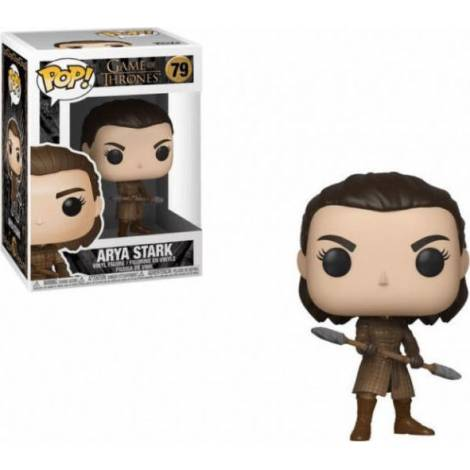 POP! Game Of Thrones : Arya Stark With Two Headed Spear #79 Vinyl Figure
