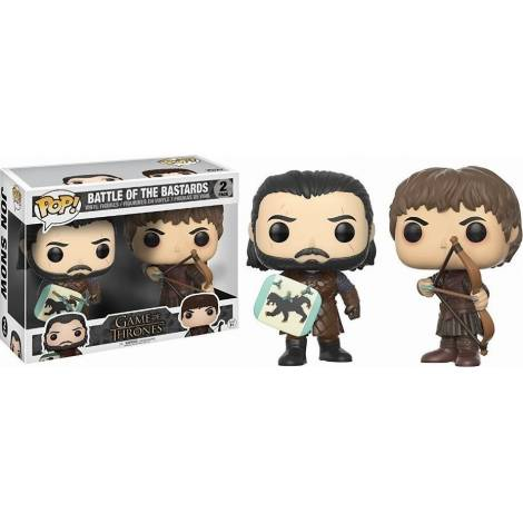 POP! Game of Thrones: Battle of the Bastards - Jon Snow & Ramsay Bolton (2 Pack) Vinyl Figures