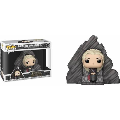 POP! Game Of Thrones - Daenerys Targaryen (On Dragonstone Throne) #63 Vinyl Figure