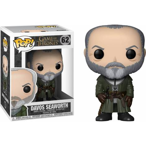 POP! Game Of Thrones - Davos Seaworth #62 Vinyl Figure