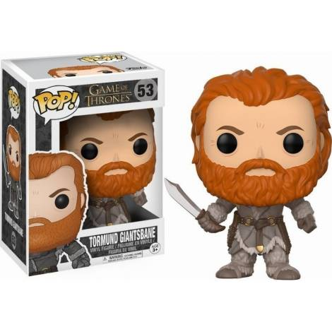 POP! Game of Thrones - Tormund Giantsbane #53 Vinyl Figure