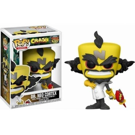 POP! Games: Crash Bandicoot - Neo Cortex #276 Vinyl Figure