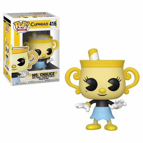 Pop Games: Cuphead - Ms. Chalice #416 Vinyl Figure