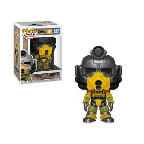 POP!  Games: Fallout 76 - Excavator Power Armor #482 Vinyl Figure