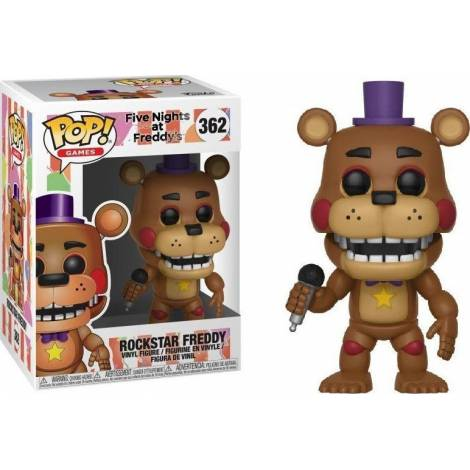 POP! Games: Five Nights at Freddy's Pizza Simulator - Rockstar Freddy #362 Vinyl Figure
