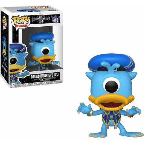 POP! Games - Kingdom Hearts 3: Donald (Monsters Inc.) #410 Vinyl Figure