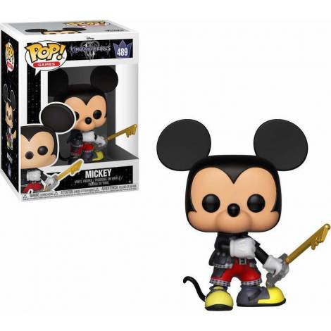POP! Games - Kingdom Hearts 3: Mickey #489 Vinyl Figure