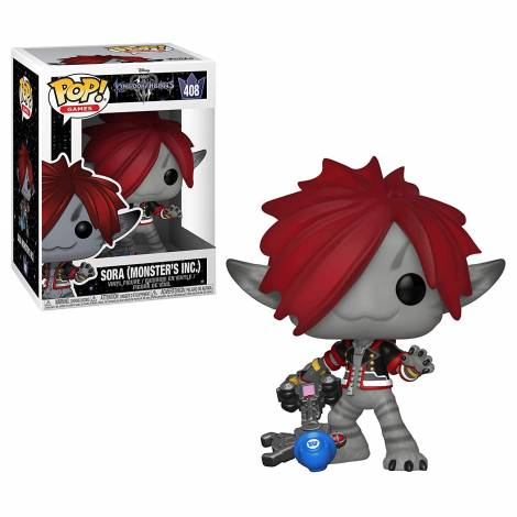 POP! Games - Kingdom Hearts 3: Sora (Monsters Inc.) #408 Vinyl Figure