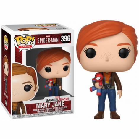 POP! Games: Marvel-Spider-Man S1-Mary Jane w/Plush