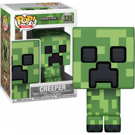 POP! Games: Minecraft - Creeper #320 Vinyl Figure