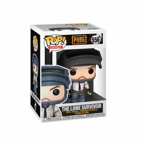 POP Games: PUBG - The Lone Survivor #556 Vinyl Figure