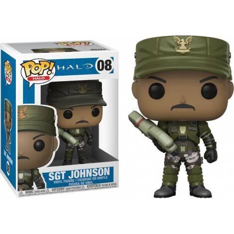 POP! Halo: Halo - Sgt. Johnson* #08 Vinyl Figure