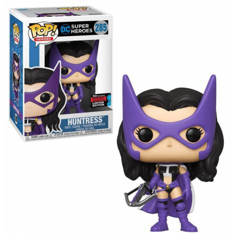 POP! Heroes: DC Super Heroes - Huntress (2019 NYCC Limited Edition) #285 Vinyl Figure
