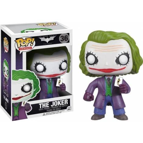 POP! HEROES: THE DARK KNIGHT - THE JOKER #36 VINYL FIGURE