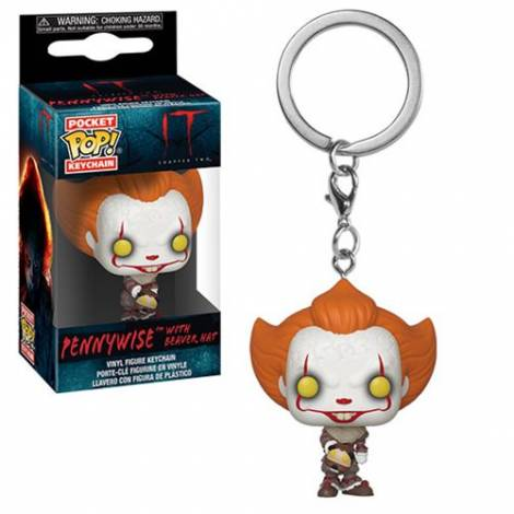 POP Keychain: IT: Chapter 2- Pennywise with Beaver Hat