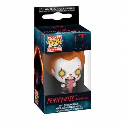 POP Keychain: IT: Chapter 2- Pennywise with Dog Tongue