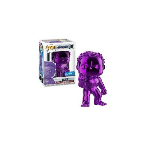 POP! Marvel : Avengers Endgame - Hulk (Purple Chrome) Special Edition #499 Bobble Head Vinyl Figure