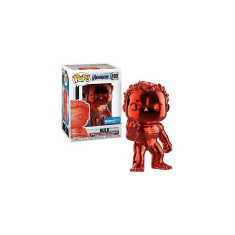 POP! Marvel : Avengers Endgame - Hulk (Red Chrome) Special Edition #499 Bobble Head Vinyl Figure