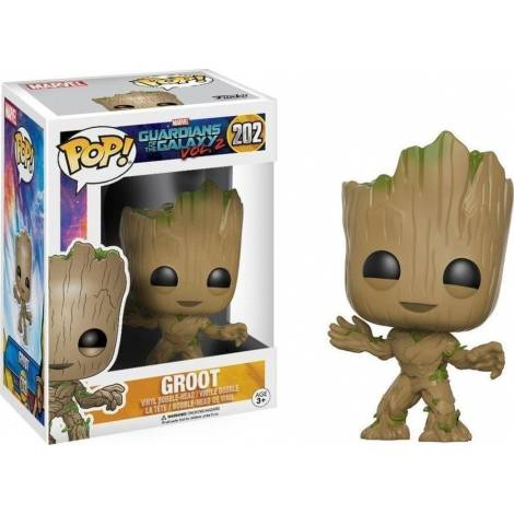 POP MARVEL: GUARDIANS OF THE GALAXY VOL. 2 - YOUNG GROOT #202 VINYL BOBBLE-HEAD