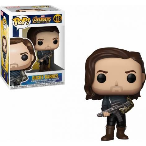 POP! Marvel: Infinity War - Bucky Barnes (with Weapon) #418 Vinyl Figure